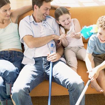 Как начать получать удовольствие от домашних дел