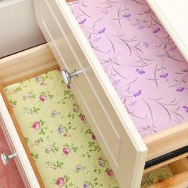 Нужно ли застилать кухонные ящики и шкафы?