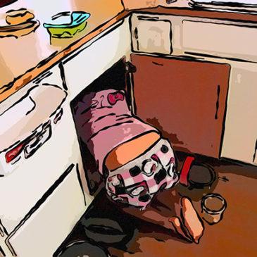 Как организовать хранение в угловых шкафах на кухне