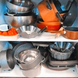 Наводим порядок в нижних шкафах на кухне